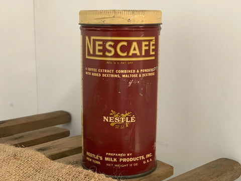 UNIQUE NesCafe Vintage Tin