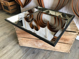NEW Distressed Vintage Mirror Tray