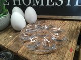 Glass Egg Storage Tray