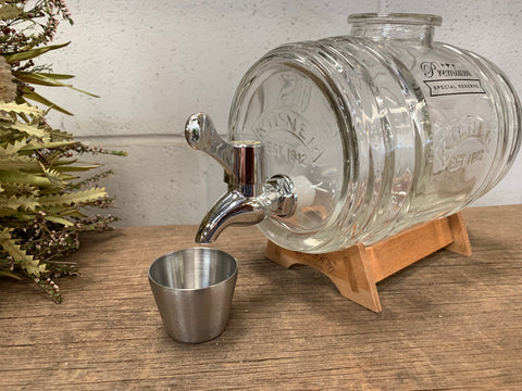 KILNER Glass 1 Litre Liquid Dispenser
