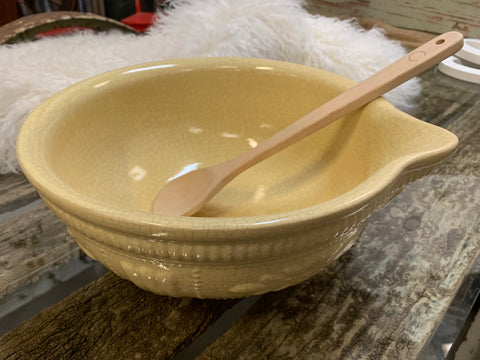 XL Ceramic Cream MAISON Bowl