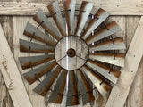 New LARGE Rustic Windmill