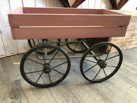 Timber Wheel Cart