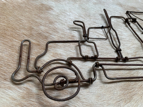 Handmade Wire CATTLE Truck
