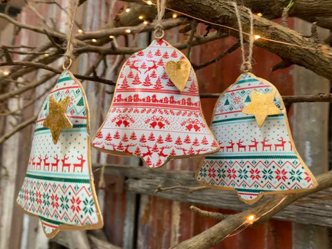Christmas Metal BELL Ornaments