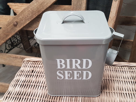 Bird Seed - Chicken FEED Tin with Scoop