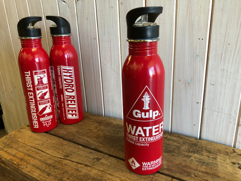 Thirst Extinguisher Water Bottle