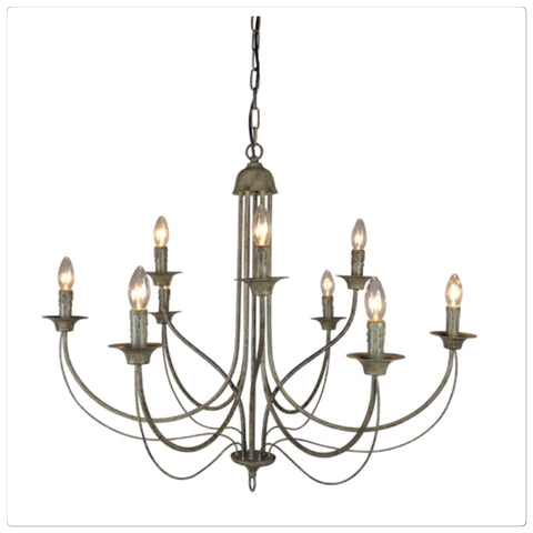 French Grey Chandelier Special Order