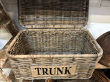 XL TRUNK Rattan Basket