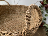 Natural ROUND Baskets with Handles