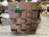 Wall Hanging Rust Planter
