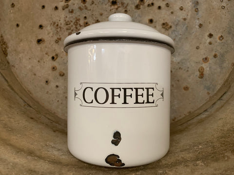 Vintage Coffee Canister