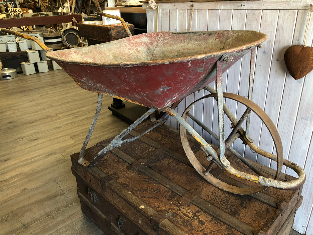 Olde Red Wheelbarrow