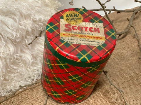 Vintage SCOTCH Tape Tin