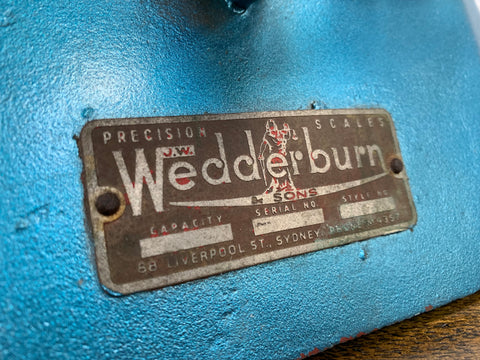 Vintage WEDDERBURN Scales