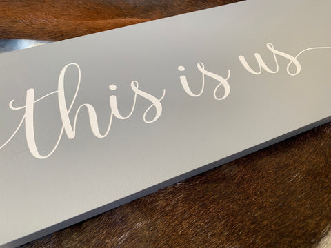 This is US Handmade Sign