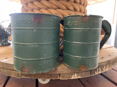 Vintage Quart Measuring Jugs