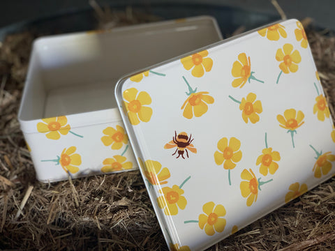 BUTTERCUP Biscuit Tin