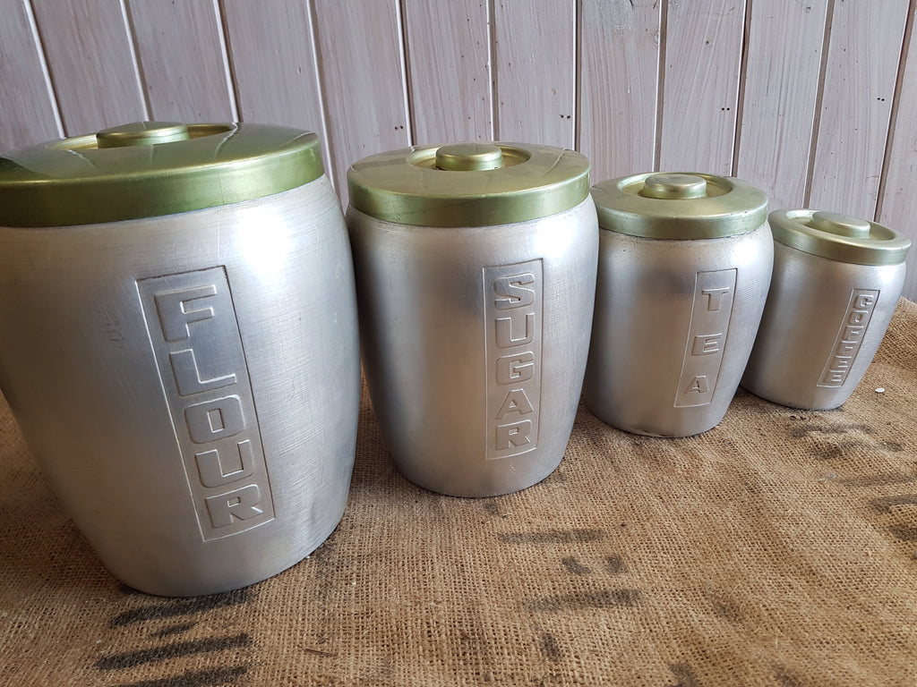 Set of Aluminium Canisters