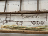 Handmade Kenworth Rusty Wire Truck