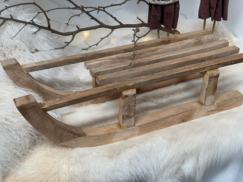 New LARGE Timber SLEIGH