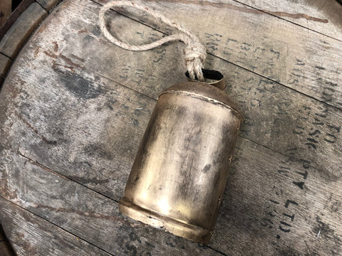 Brass COW Bell Large