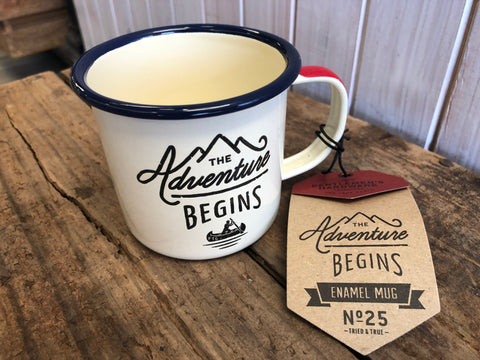 The Adventure Enamel Mug