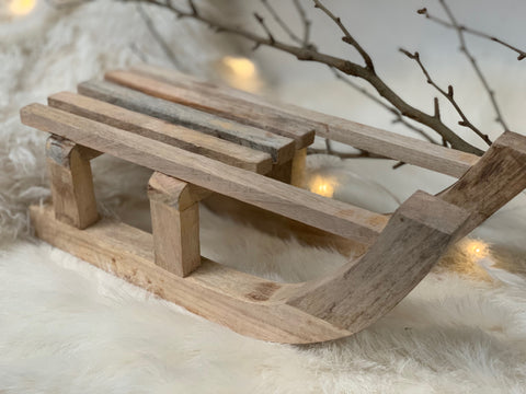 New SMALL Timber Sleigh