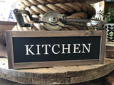 Handcrafted Kitchen Sign