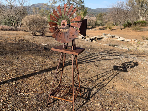 Rusty 1.2M Windmill