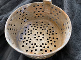 Vintage COLANDER with Retractable Handle