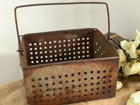 Vintage Grape Basket
