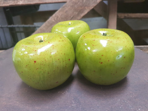 Green Apple set of 3