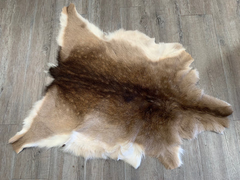 Spotted Deer Rug Skin SECONDS