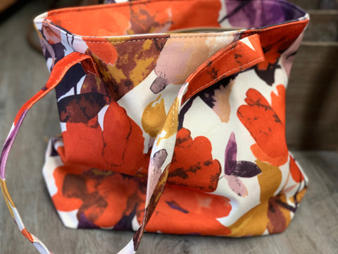 NEW Floral Autumn Bloom Carry Bag 1 ONLY