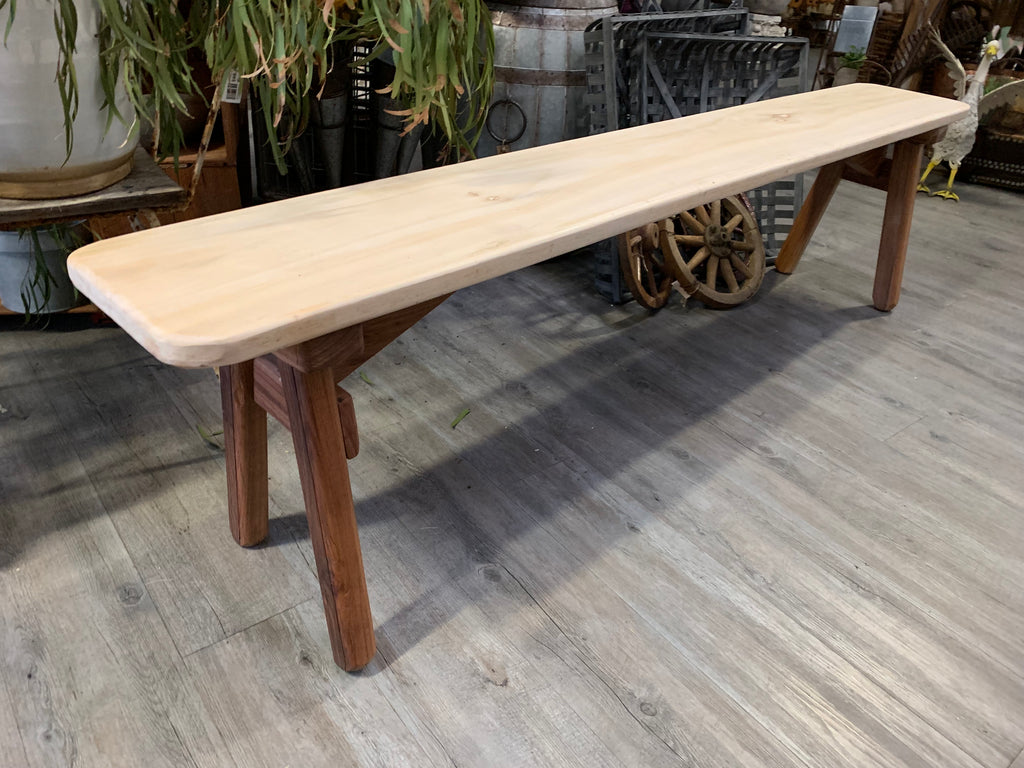 Unique POPLAR Timber Bench