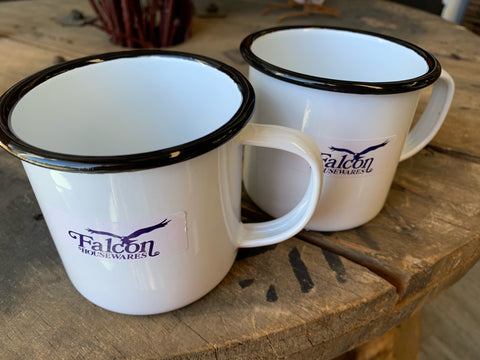 Falcon Enamel Mugs