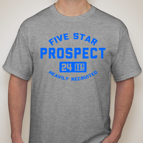5SP - ATHLETICS (BLUESHIRT) T-SHIRT BY FIVE STAR PROSPECT