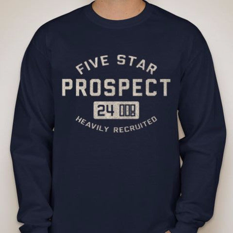5SP - ATHLETICS (LONG SLEEVE) SHIRT BY FIVE STAR PROSPECT