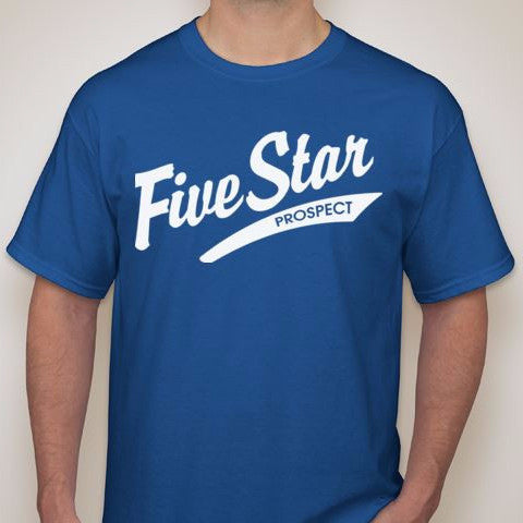 5SP - OLD SCHOOL T-SHIRT BY FIVE STAR PROSPECT