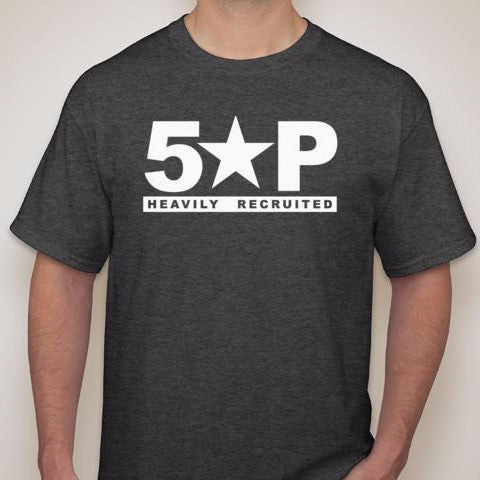 5SP - BLOCKSTYLE T-SHIRT BY FIVE STAR PROSPECT