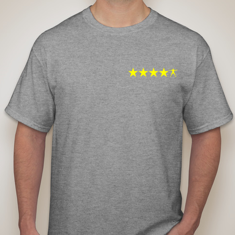 5SP - RANKED ATHLETE T-SHIRT BY FIVE STAR PROSPECT