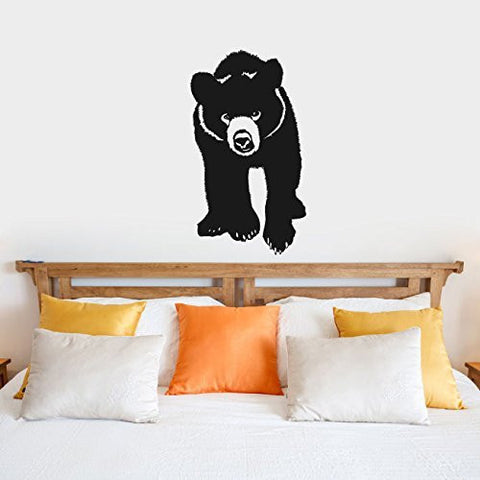 Bear Cub Vinyl Wall Words Decal Sticker Graphic