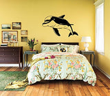 Dolphin Vinyl Wall Decal Sticker Graphic - Oakwood Decals - 1