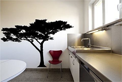 African Baobab Tree Silhouette Vinyl Wall Decal Sticker Graphic