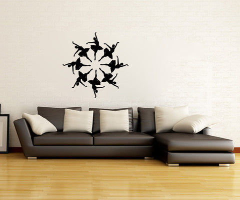 Ballerinas Vinyl Wall Decal Sticker Graphic - Wall Decal