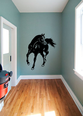 Horse Silhouette Vinyl Wall Decal Sticker Graphic