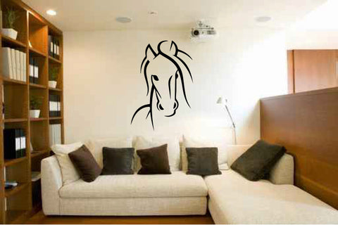 Horse Vinyl Wall Decal Sticker Graphic  - 1