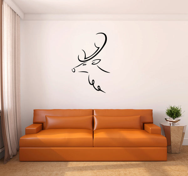 Deer Vinyl Wall Decal Sticker Graphic  - 1