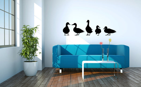Ducks Vinyl Wall Decal Sticker Graphic  - 1